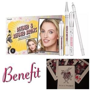 New Benefit Defined & Refined Eye Brow Kit Shade 2